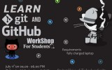 LEARN git AND GitHub workshop for students.