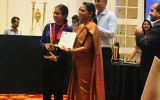 Dr. Chathuri Senanayake was awarded as the Champion in the 3 minutes Thesis Competition at the SLAYS open forum