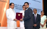 President's Award for Scientific Research, 26th August 2019