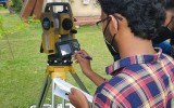Surveying training camp for CBST and AT students under the  Department of Civil and Environmental Technology